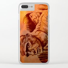 Marlon Brando as Colonel Kurtz Clear iPhone Case