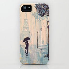 Last Night In Paris  iPhone Case