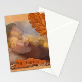 Be here Stationery Cards