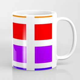 Colorful Art rainbow swatches pattern Coffee Mug