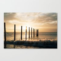 north carolina Canvas Prints featuring North Carolina by Brendan M. Paul