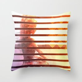 Summer Dawn Throw Pillow