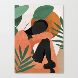 Tropical Girl 10 Canvas Print