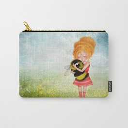Bee Whisperer - Save the Bees Carry-All Pouch