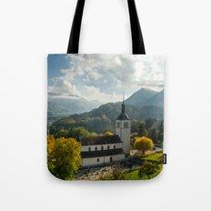 Gruyères Church Tote Bag
