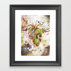 Heart Minded Framed Art Print
