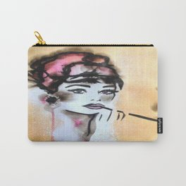 Audrey Fire Illustration Carry-All Pouch