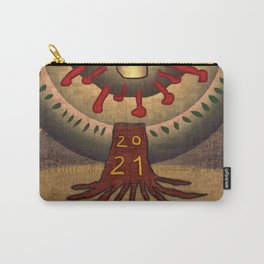 2021 Panacea New Year Tree Carry-All Pouch