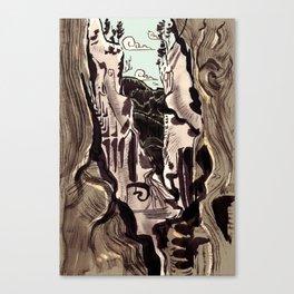 Shangri-La color Canvas Print