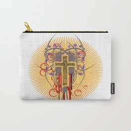 The Cross at Sunrise Carry-All Pouch