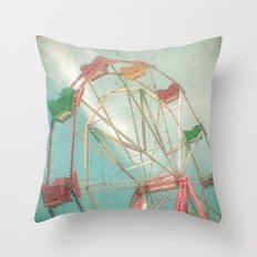 Big Wheel II Throw Pillow