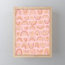Rainbow Print Framed Mini Art Print
