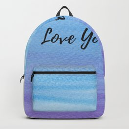 Love your world Backpack