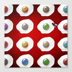 Disco Breakfast Canvas Print
