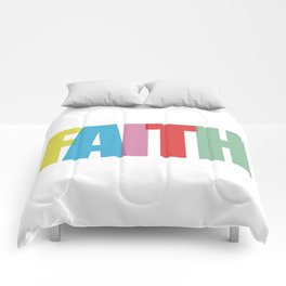 Faith (Color) Comforters