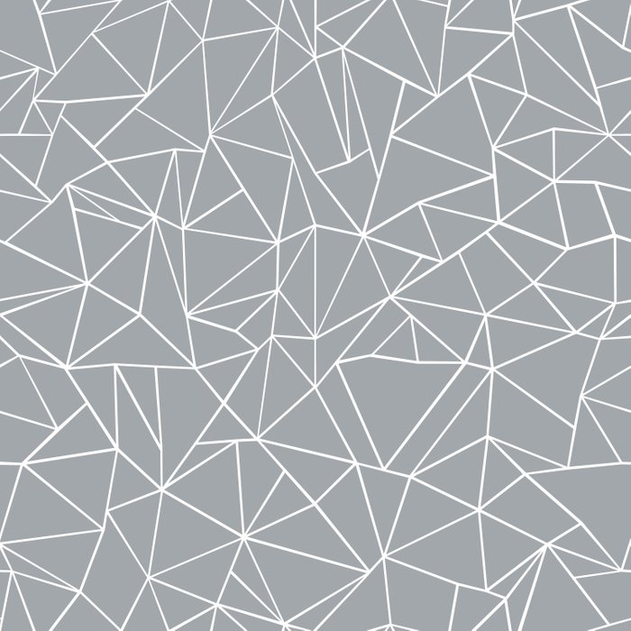 Abstraction Outline Grey Comforters