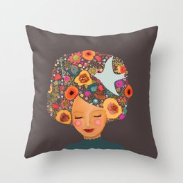 annabelle Throw Pillow
