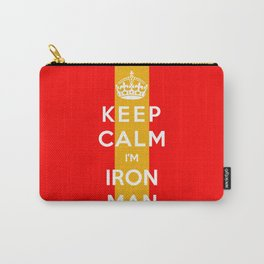 Keep Calm I'm Iron Man Carry-All Pouch