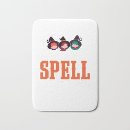 I Put A Spell On You Spooky Halloween Bath Mat