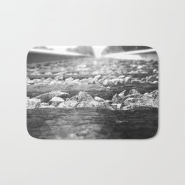 B&W RailRoad Bath Mat