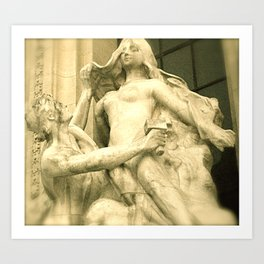 Angel Goddess Art Print