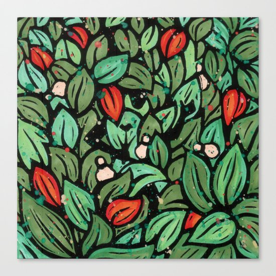 Orixás - Ossae Canvas Print