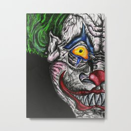 Khaotic the Psychotic Clown Metal Print