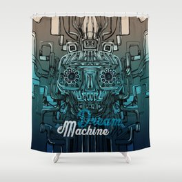 Dream Machine VI Shower Curtain
