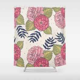 Floral 13 Shower Curtain
