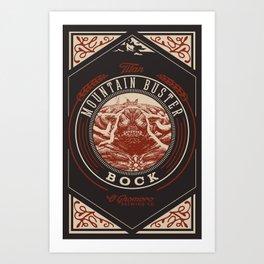 Mountain Buster Bock   FFXIV Art Print