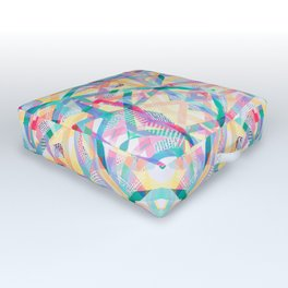 Sublime Summer Outdoor Floor Cushion