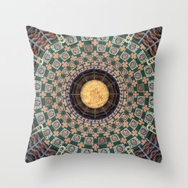 Chinese ceiling Throw Pillow