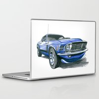 boss Laptop & iPad Skins featuring 70 Boss by Anthony Billings