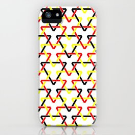 Belgian Triangles iPhone Case