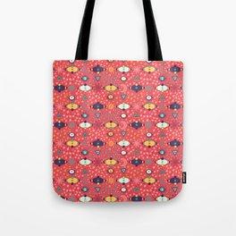 Cosmos Pattern Tote Bag