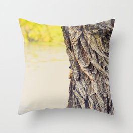 Look to the water Throw Pillow