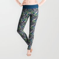 zen Leggings featuring Like a Tree 2. version by Klara Acel