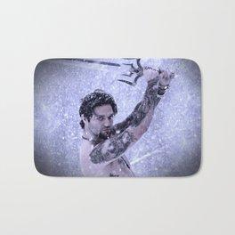 Bam Bam the Snow Warrior Bath Mat