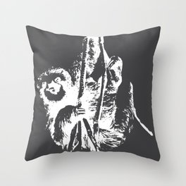 Sloth Loafers Chiller Slowly Gift Throw Pillow
