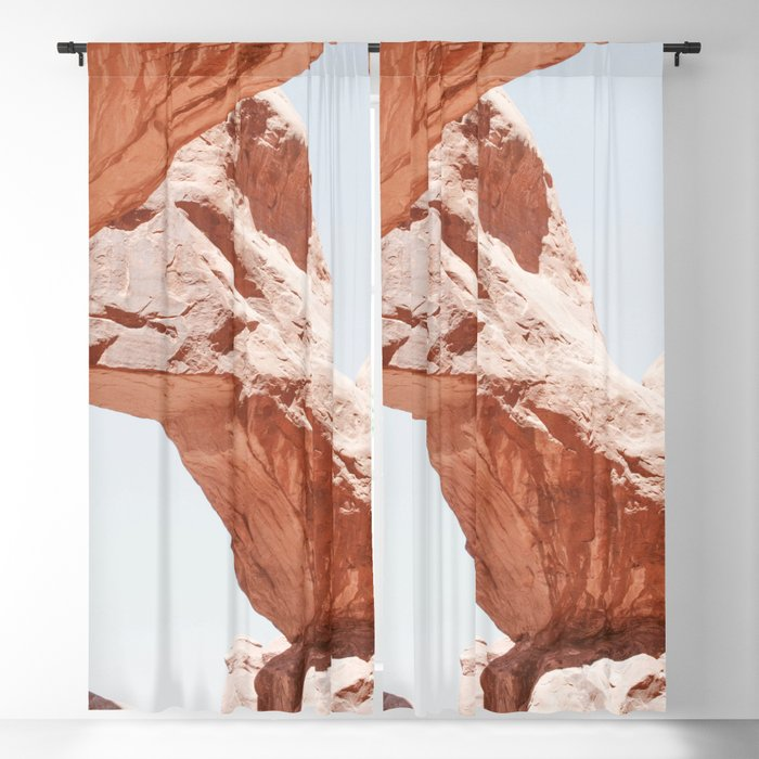 Desert Arches Blackout Curtain