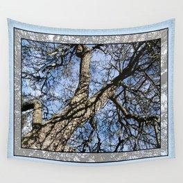 WINTER PEAR TREE Wall Tapestry