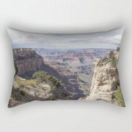 A Vertical View - Grand Canyon Rectangular Pillow