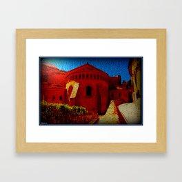 Herault Sun Framed Art Print