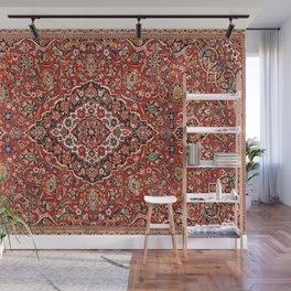 Kashan  Antique Central Persian Rug Print Wall Mural