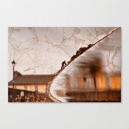 Stream of Peeling Dreams Canvas Print