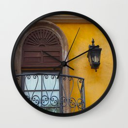 A Window in Mexico Wall Clock