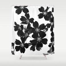 Primrose In BW Shower Curtain