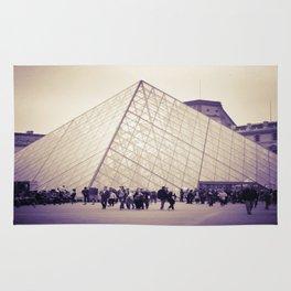 The Purple Pyramid Rug