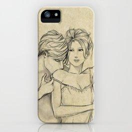 valentine kiss #8 iPhone Case