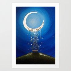 The Wishing Swing Art Print